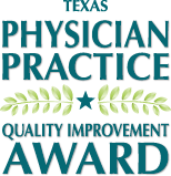 Texas Physician Practice Quality Improvement award